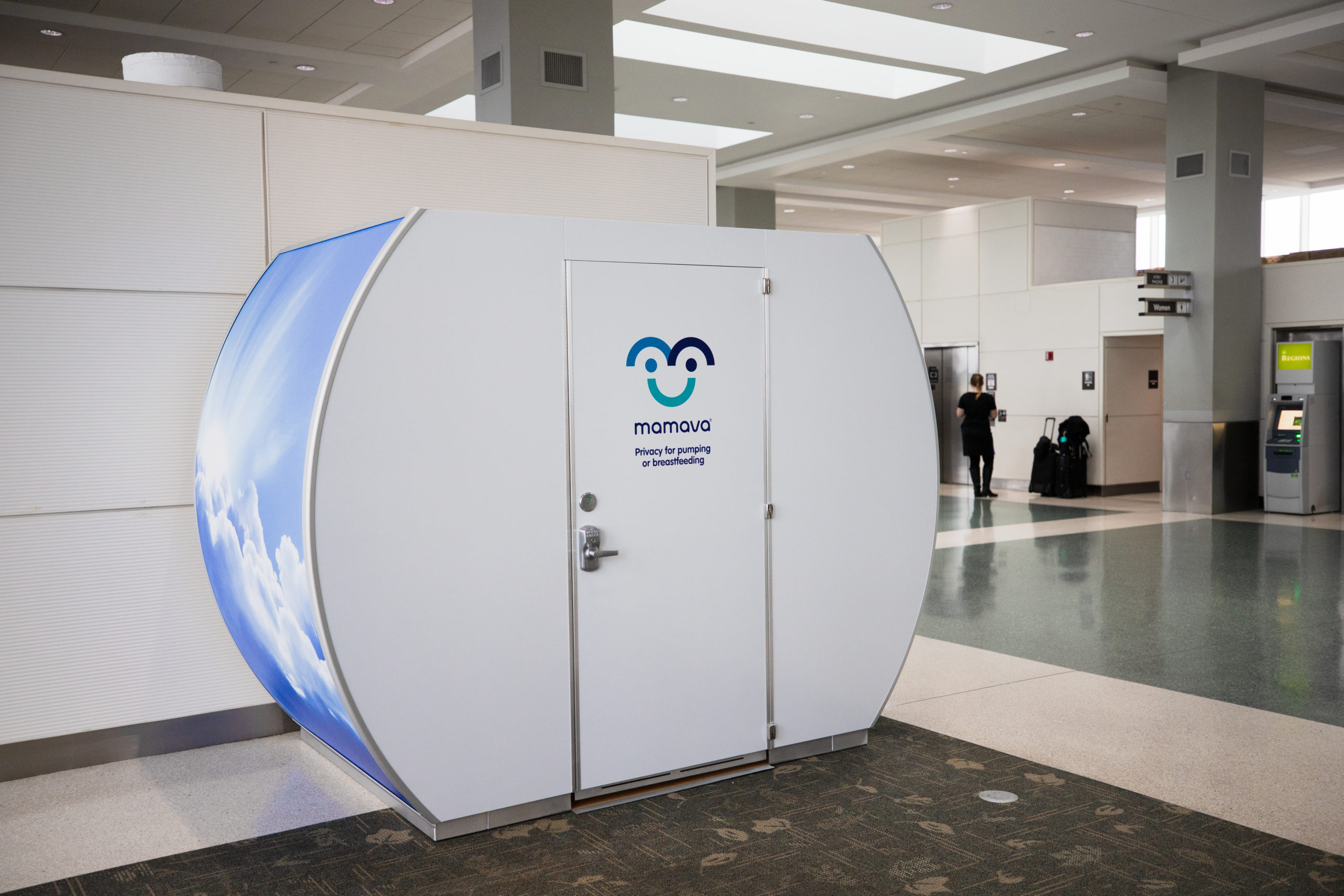 Image for TYS Opens a New Lactation Station for Nursing Mothers: A Mamava Pod